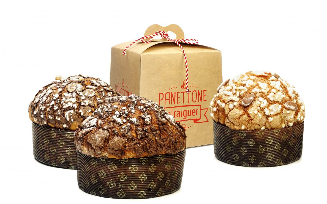 Panettone el Raiguer, un clásico de la pastelería.