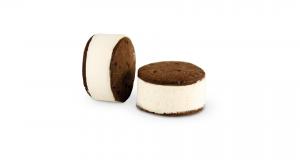 Galleta choco con helado biscuit